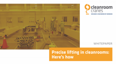 Precise lifting in cleanrooms: Here's how