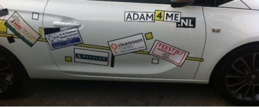 Clean Room Cranes and Opel Adam a team